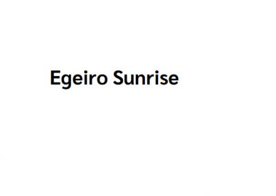 Egeiro Sunrise