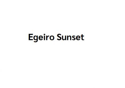 Egeiro Sunset